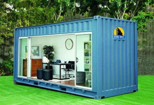 Villiers le bel ils installent leur bureau dans un for Acheter conteneur maritime